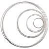 Beadalon Memwire Kit .50oz Assorted Sizes Silver